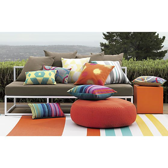 1000 Images About Outdoor Rugs Pillows Poufs On