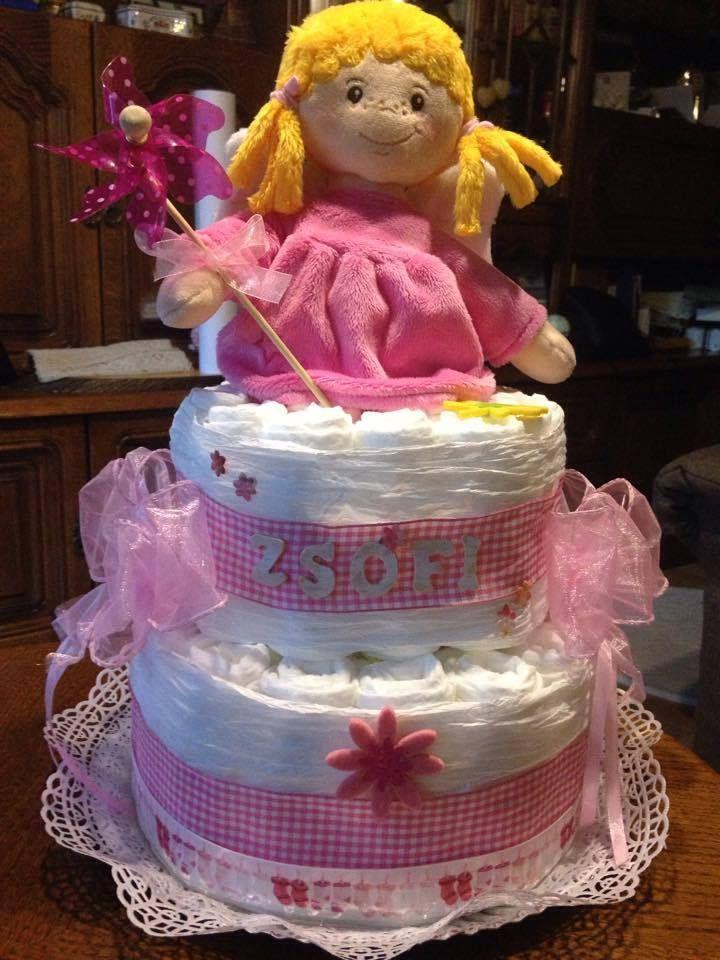 Zsófi baba tortája....