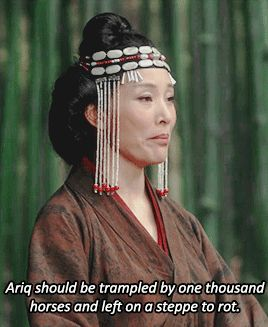 Marco Polo Empress Chabi Kublai Khan Joan Chen Benedict Wong my post this scene was so amazing like...it was probably gif-ed before because I've just started watching this but wow Empress Chabi ftw Marco Polo edits my posts   end-area.tumblr.com