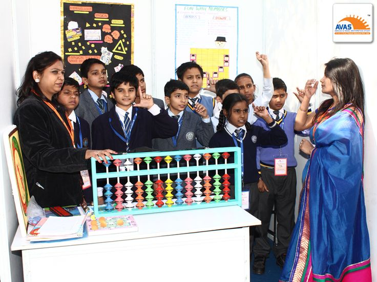 Students giving DEMO of ABACUS, result of increased concentration and giving 100% correct answers in front of judges