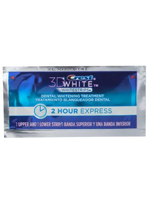 Crest 3D White 2 Hour Express Whitestrips Review: Skin Care: allure.com