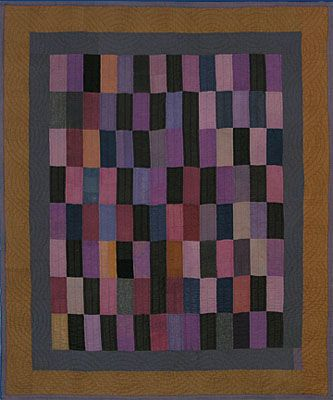 Antique Amish quilt posted at Minick & Simpson: color inspiration