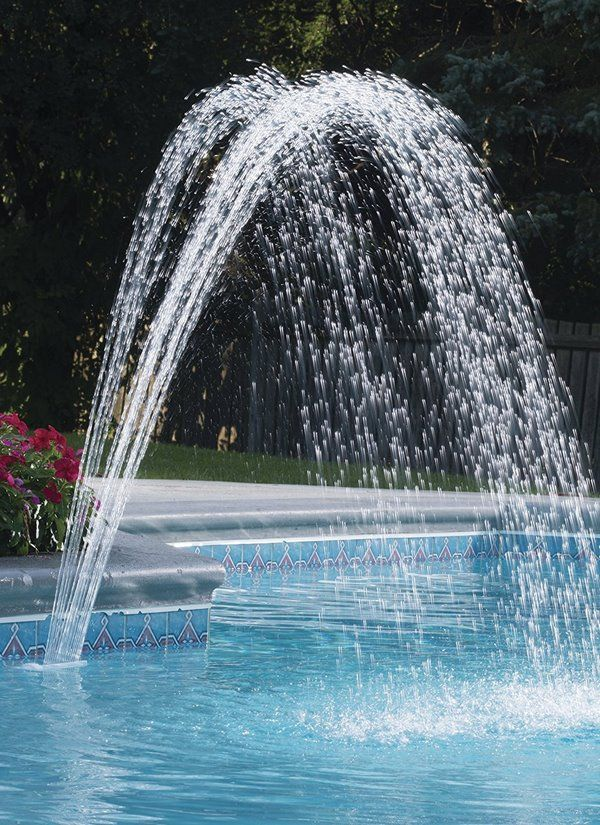 Best 25 Swimming Pool Fountains Ideas On Pinterest
