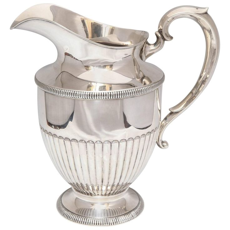 Art Deco Sterling Silver Water Pitcher | 1stdibs.com