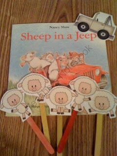 Books with props for preschoolers