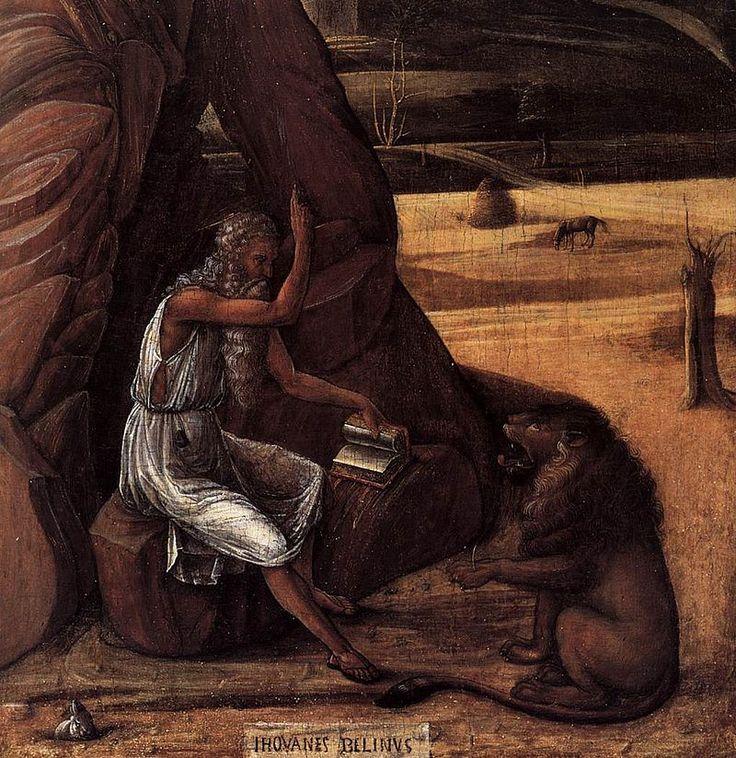 Giovanni Bellini - St Jerome in the Desert (detail) - WGA01623.jpg