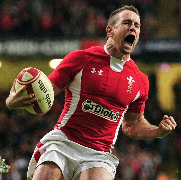 Wales - Shane Williams Celebrates