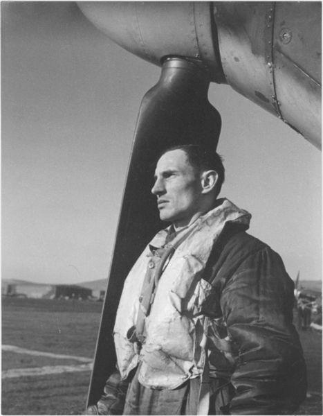 Velitel perutě škpt. Alois Vašátko 1941