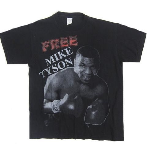 Vintage Free Mike Tyson Real Champ T-Shirt