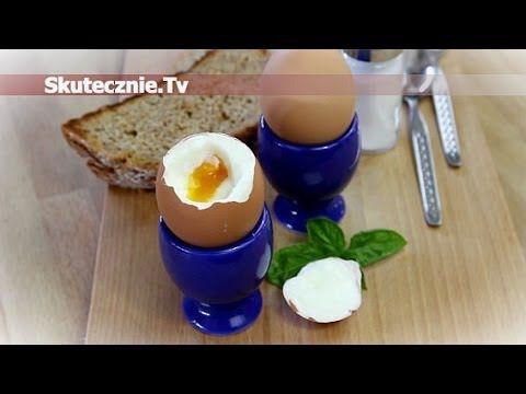 Jak ugotować idealne jajka na miękko :: Skutecznie.Tv [HD] - YouTube