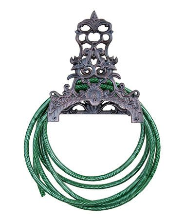 Loving this Antique Brown Victorian Garden Hose Holder on #zulily! #zulilyfinds
