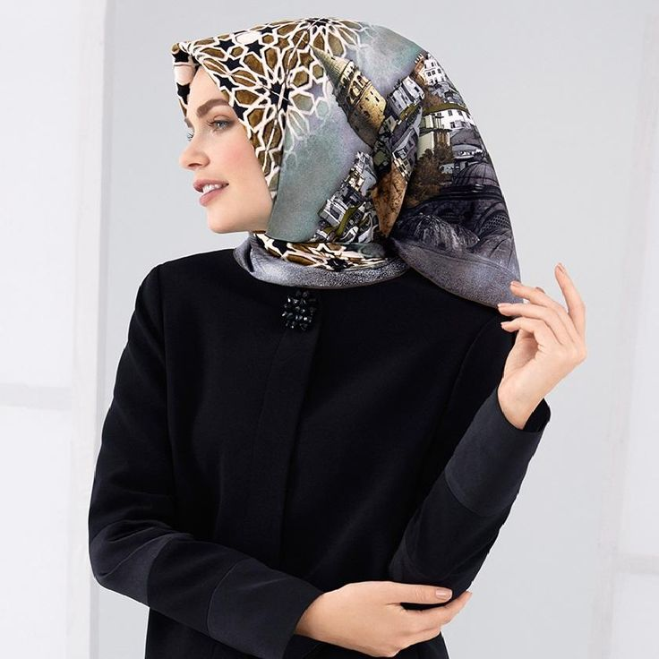 Armine Alisa Captivating Turkey Silk Scarf at www.hijabplanet.com - free shipping worldwide  #hijab #scarf #hijabfashion #StunningHijab #accessories #scarflovers #hijabstyle #fashionhijab #fashionlovers #luxuryaccessories