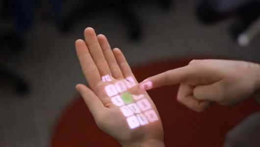 Any surface becomes a touch screen. The mind boggles. http://www.mnn.com/green-tech/gadgets-electronics/stories/kinect-like-technology-turns-any-surface-into-a-touchscreen