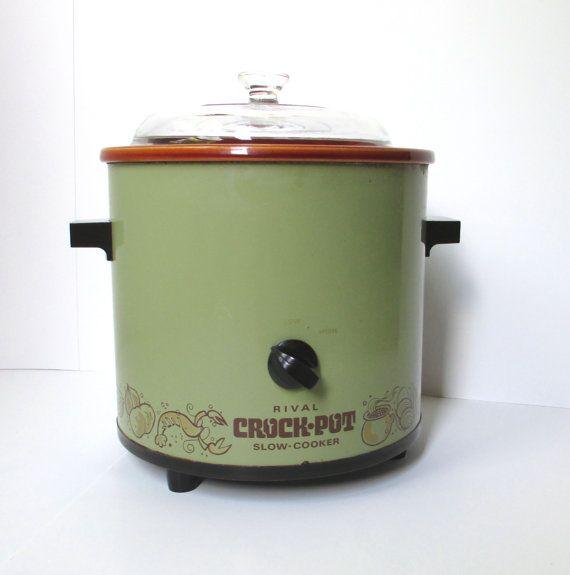 Vintage Rival Crock Pot