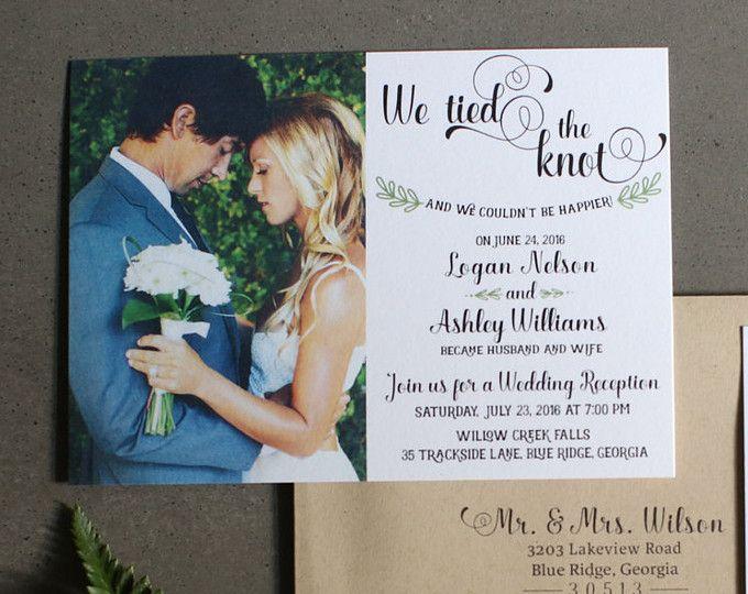 Elopement Wedding Invitations: 1000+ Ideas About Elopement Reception On Pinterest