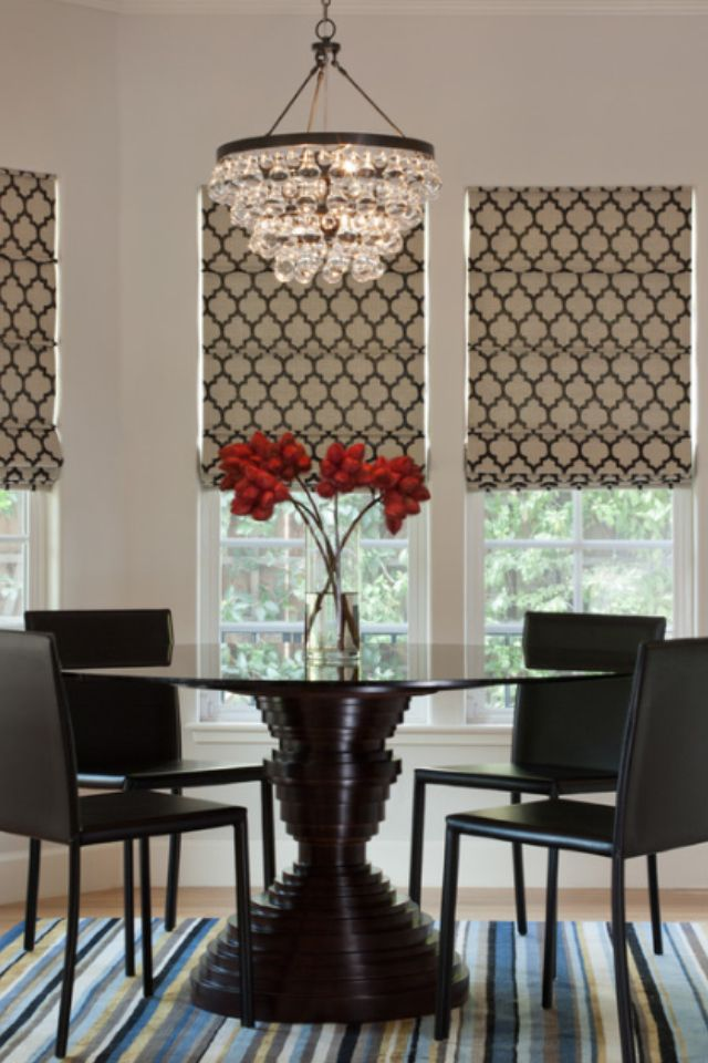 Top 5 Drapery Trends On Pinterest Drapery Street Modern Dining Room Contemporary Dining Room Home Decor