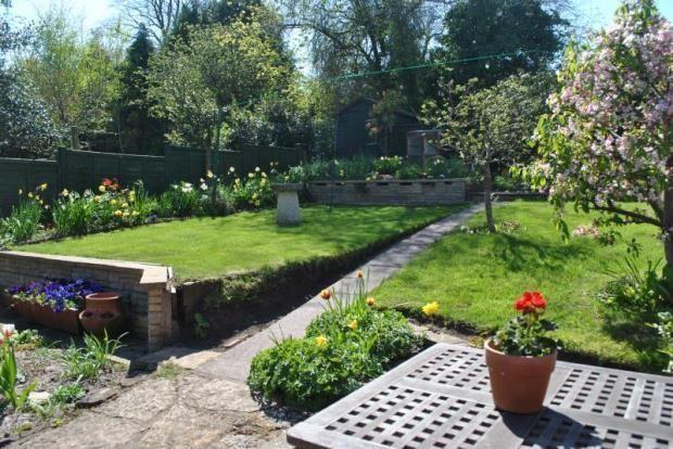 Typical Spring garden - Halse, Som, April'15