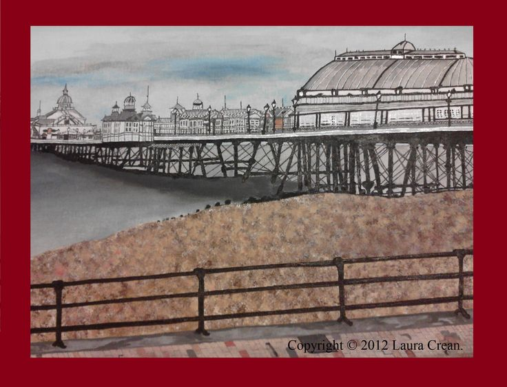 My painting of Eastbourne pier (before the fire)