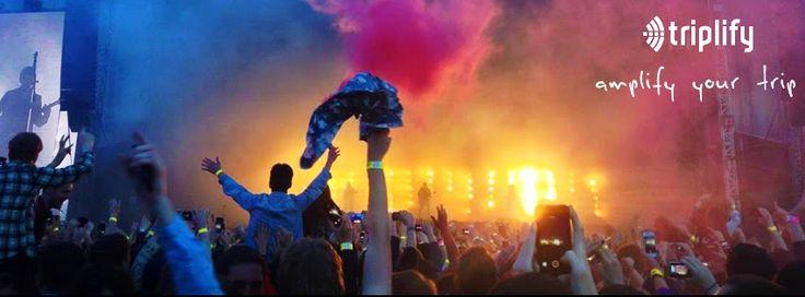 Amplify your trip!!! #travel #culture #experience #colour #fun #concert #crowd #love #triplify #triplifyd #trip #festival