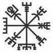 It is a Norse protection symbol called Vegvísir, which has a deep meaning. The Icelandic word literally means 'guidepost' or 'direction sign'. In modern popular culture the Vegvísir is often called Runic Compass or See the Way. It is often associated with the Viking Age, which is not correct: this symbol is from the 17th century Icelandic grimoire called Galdrabók ('magic book').