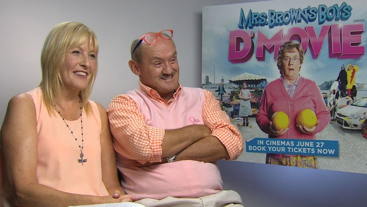 Mrs Browns Boys D'Movie - Brendan O'Carroll & Jennifer Gibney Interview