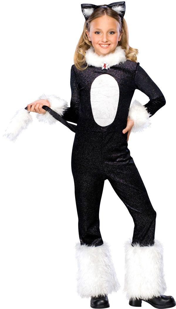 Girl Cat Halloween Costumes
