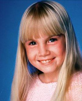 Heather O'Rourke - American child actress died at the age of 12.  1975 - 1988