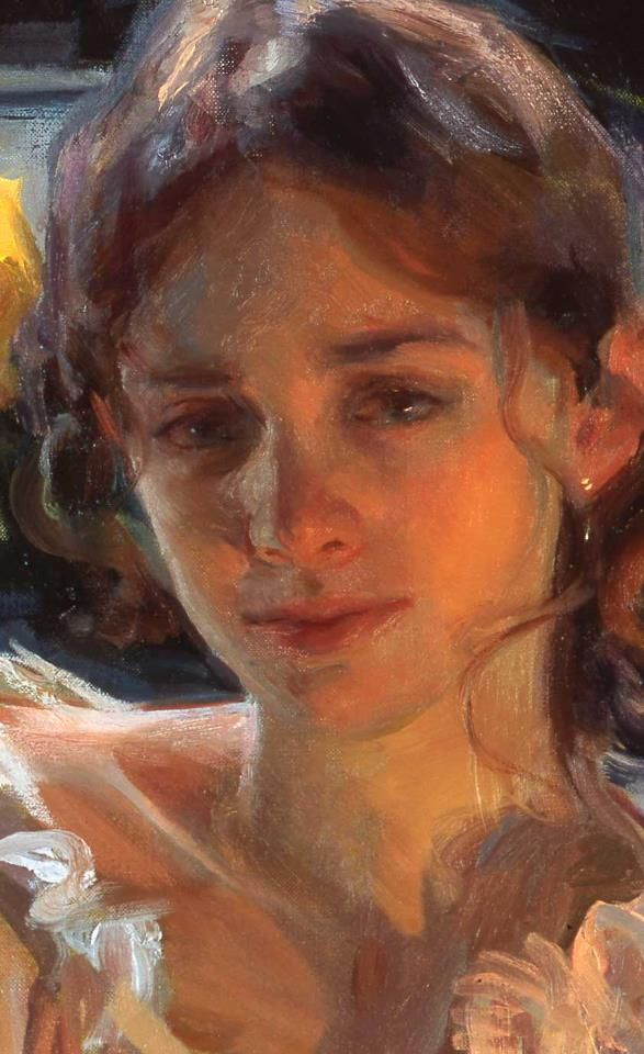 Daniel F. Gerhartz. I love his detail. She looks so sad.