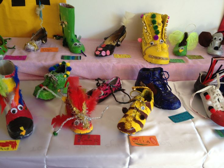 Painted Shoes By Grade two