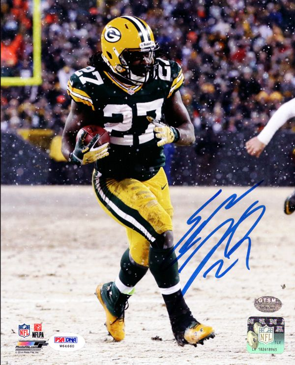 Eddie Lacy Autographed 8x10 Photo Green Bay Packers PSA/DNA Stock