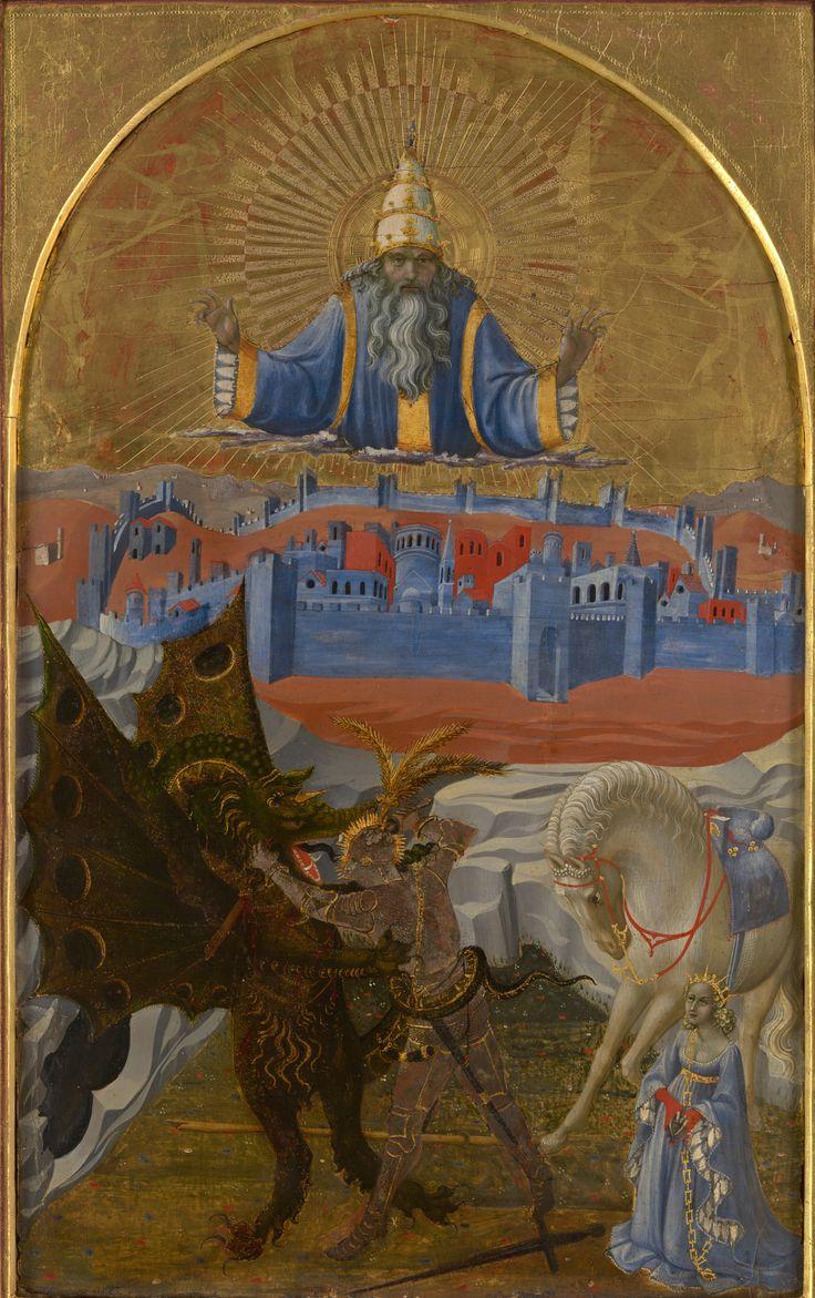 Paolo Uccello - San Giorgio e il Drago - 1456 circa, National Gallery di Londra.