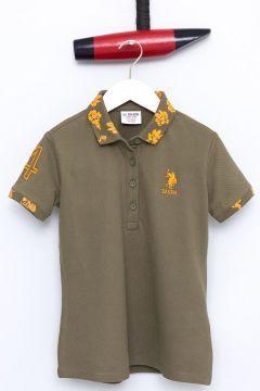 Kız Çocuk T-Shirt https://modasto.com/us-ve-polo-ve-assn/kiz-cocuk/br20826ct105