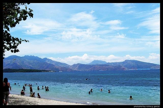 Beach - Camayan Beach Resort, Subic Zambales, Philippines