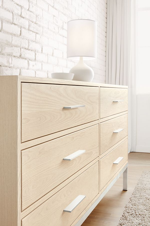 Modern Wood Dresser Bedroom