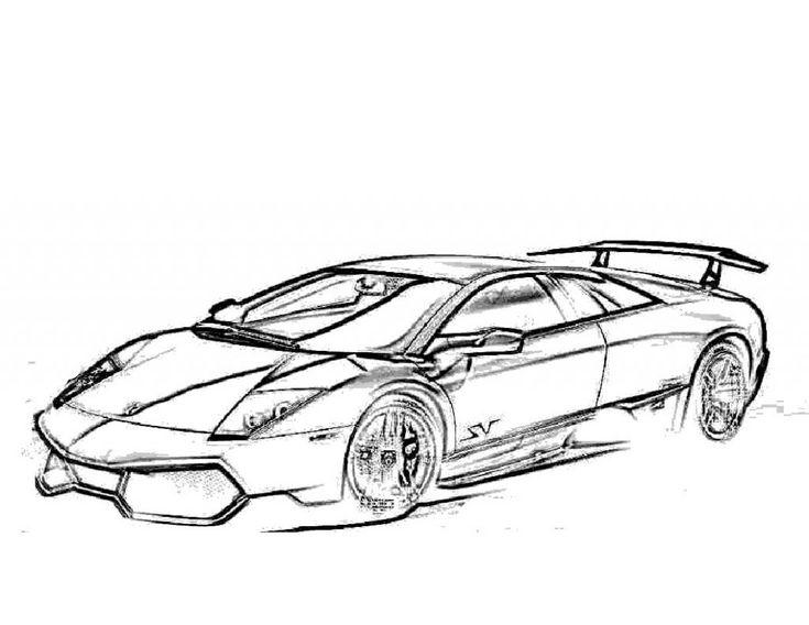 Free Printable Lamborghini Coloring Pages For Kids | Cars ...