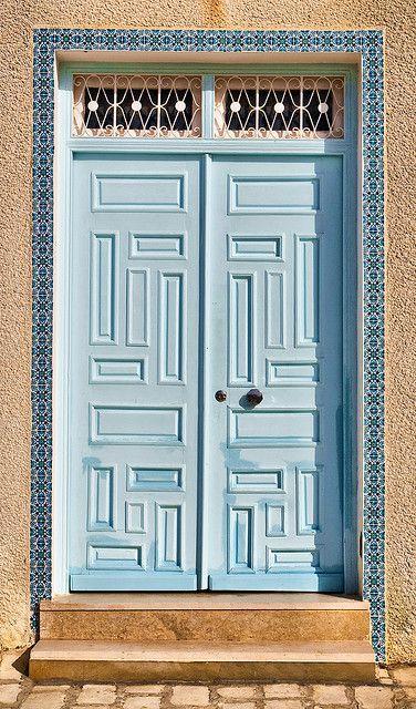 Blue door | Flickr Нежно...