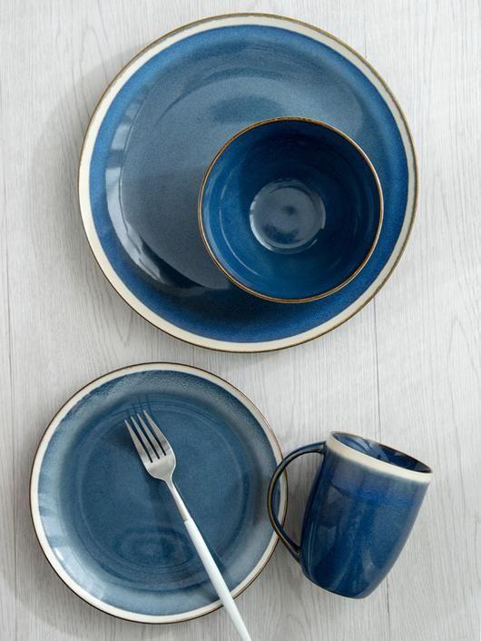 Azure Blue Tableware
