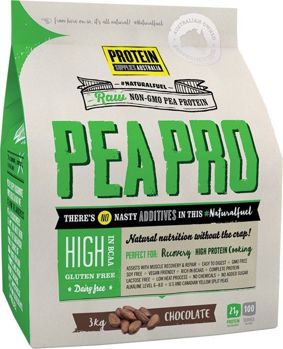 Protein Supplies Australia PeaPro Vanilla Bean (Raw Pea Protein)