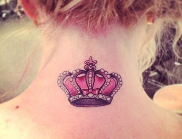 Cuál es el significado de los tatuajes de coronas #tattoos #colortattoo #inked…