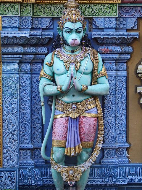 Hanuman Singapore Temple. If the supreme Shiva can serve to uphold the universe, who am I to uphold my ego, and deny creation? By the example of supreme humility and service, we learn that pride is eventually destructive (ravan). But that service is always emboldening and strengthening. Rama is an object for the display of Shiva's magnanimity. Rama is not greater than Hanuman. that is men's perception of the superficial truth. Jai Shri Ram! Jai Shri Hanuman!