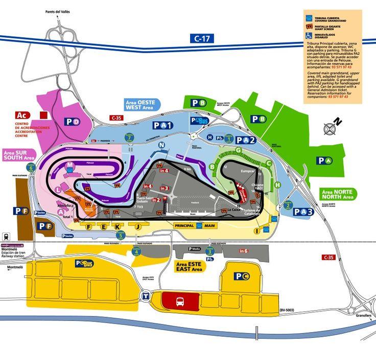 Circuito De Catalunya, Barcelona, España