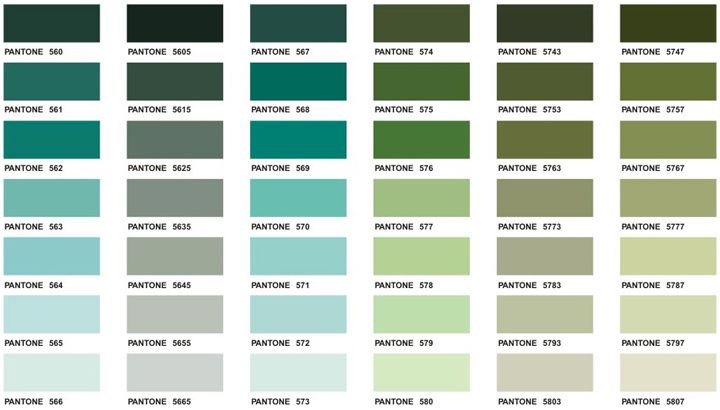Pantone Color Chart With NamesColorPrintable Coloring Pages Free