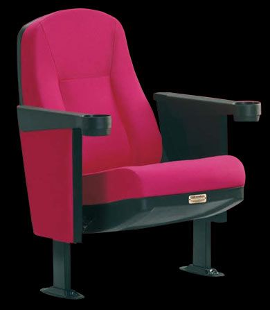 Extra Theater Seat The Extra Is An Affordable Fixed Back Theater Seat (not  A Rocker. Theater SeatingHome TheatersCup HoldersMovie ...