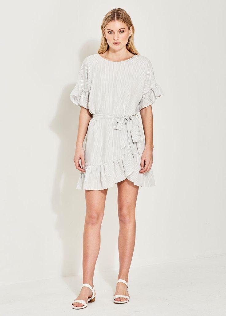 Imonni - Maya Cotton Wrap Dress