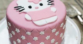 Cake design : Gâteau Hello Kitty