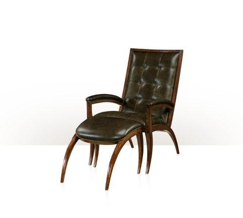 Arc Chair U0026 Ottoman