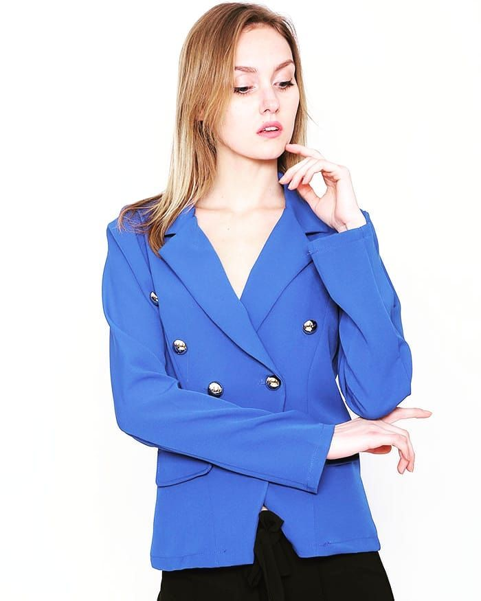 Elegant Spring BlazerCheck Out the New Collection  www.capriccioshop.gr  #blazer #blazers #woman #girls #girly #blue #trends #color #elegant #classy #fresh #newcollection #editorial #bestprice #sales #buyitnow #instamood #instafashion #instaphoto #onlineshop #trend #women #fashionaddict #followmenow #outfit #fridaymood #charming #colorblock #aboutalook