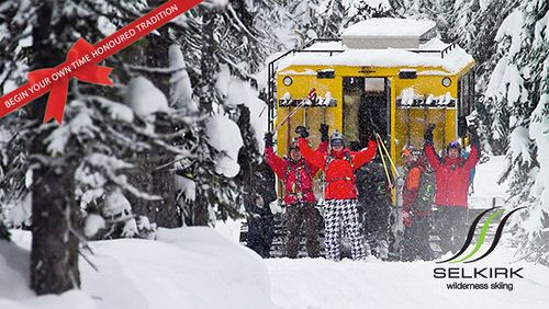 Christmas at Selkirk Wilderness Skiing