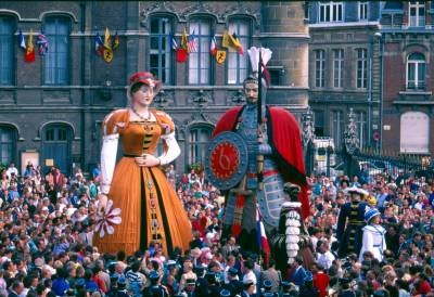 Douai, France Monsieur et Madame Gayant