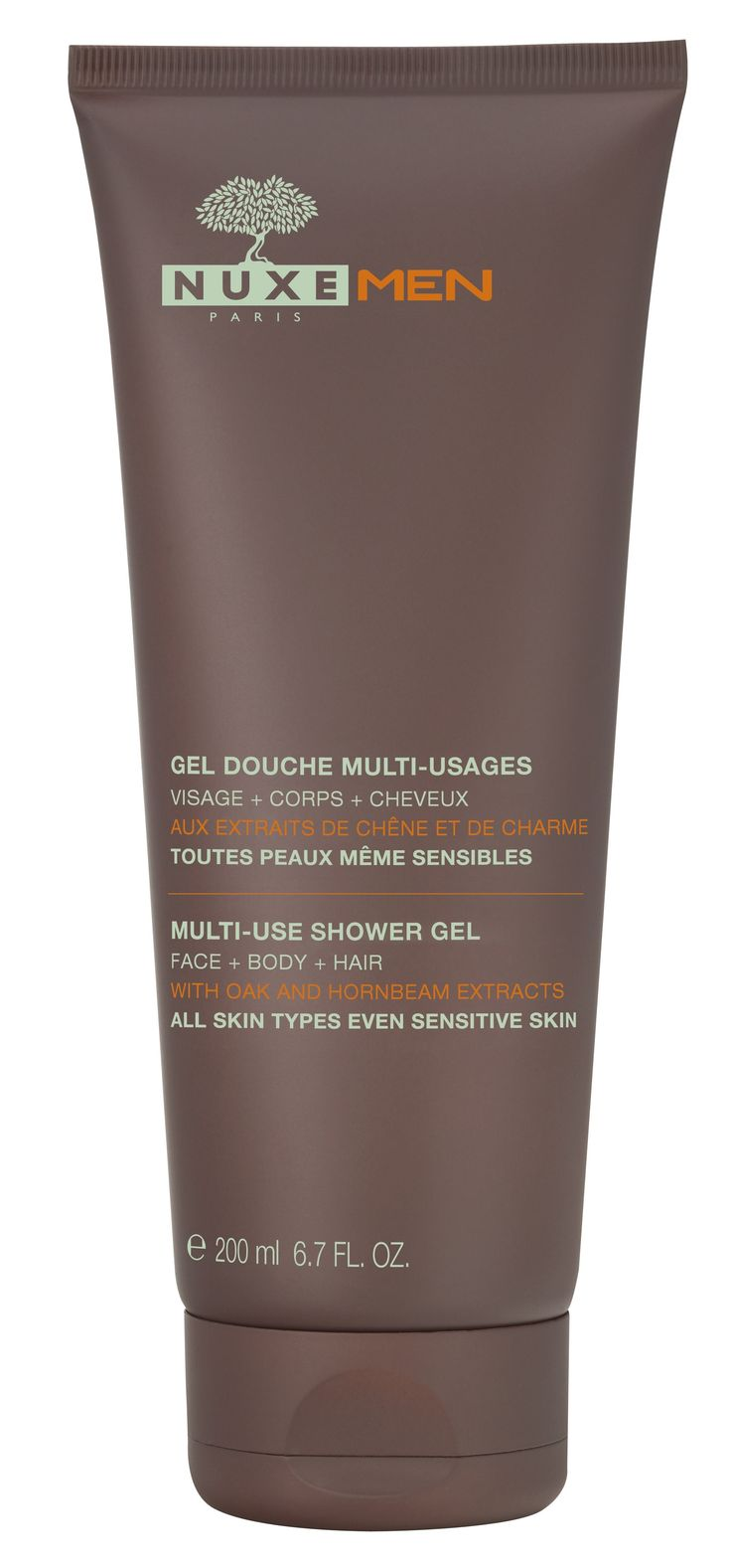 Nuxe Men Gel Douche Multi-usages 200ml - Pharmacie Lafayette - Provisoire